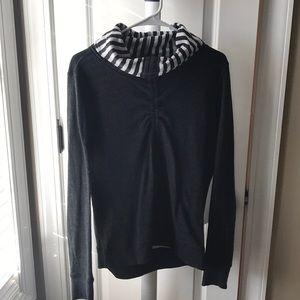 Lululemon Reversible Cowlneck Sweater